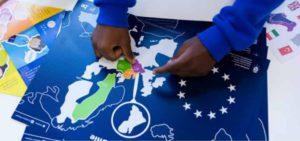 Stickerpuzzel Europese Unie