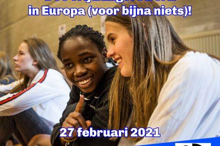 Vrijwilligerswerk in Europa